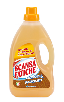 """SCANSA FATICHE –""""Legno & Parquet"""" - čistiaci prostriedok na podlahy, drevo a parkety. -1PFBIPC5030S4"""